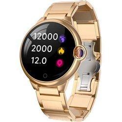 Zegarek - Smartwatch Damski Garett Karen złoty-stalowy