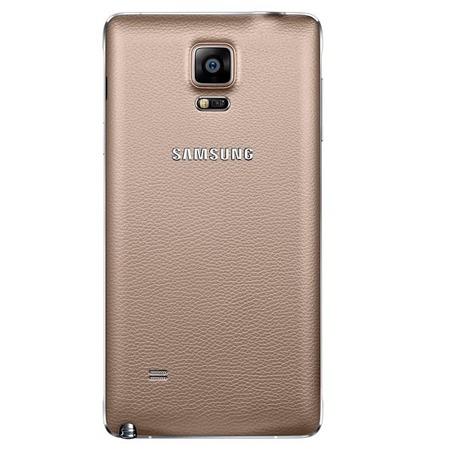 Etui Back Cover do Samsung Glaxy Note 4, Złoty