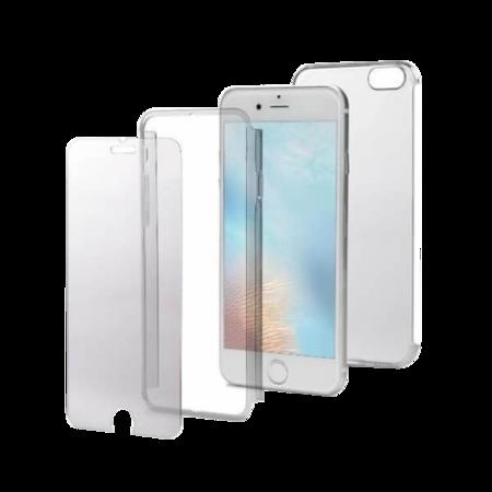 Celly Total Body 360 etui + szkło do iPhone 7 przezroczyste