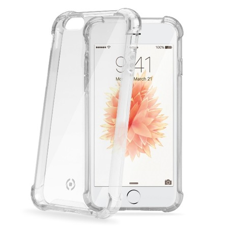 Etui Case Celly ARMOR185SEWH do iPhone SE przezroczyste