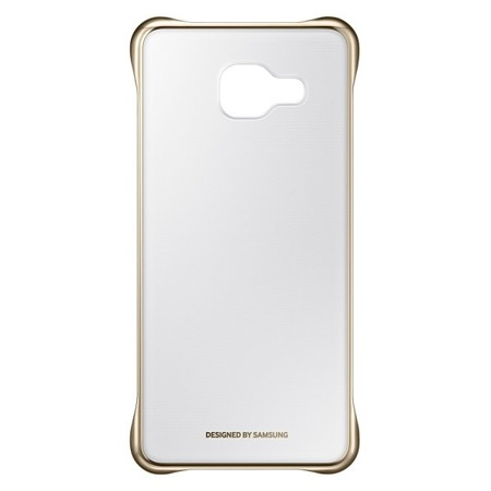 Etui Clear Cover do Samsung Galaxy A3 (2016) Gold