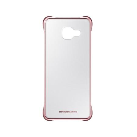 Etui Clear Cover do Samsung Galaxy A3 (2016) różowe