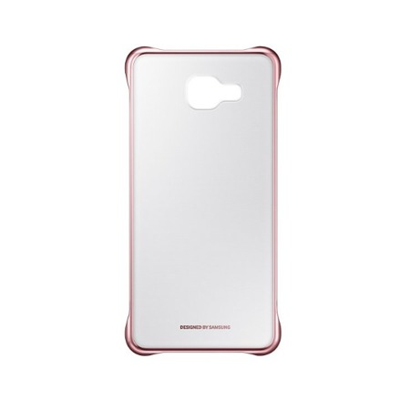 Etui Clear Cover do Samsung Galaxy A5 (2016) Pink Gold