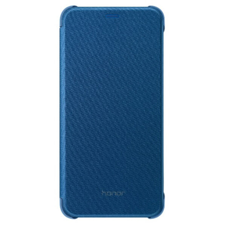 Etui Flip Cover PU do Honor 9 Lite niebieskie