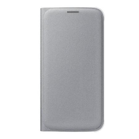 Etui Flip Wallet do Samsung Galaxy S6 Flat, Biały