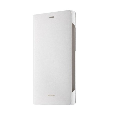 Etui HUAWEI P8 Lite Flip Cover White
