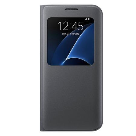 Etui S View Cover do Samsung Galaxy S7 edge Black Czarny