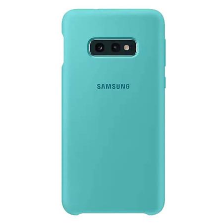 Etui Silicone Cover do Samsung Galaxy S10e zielone