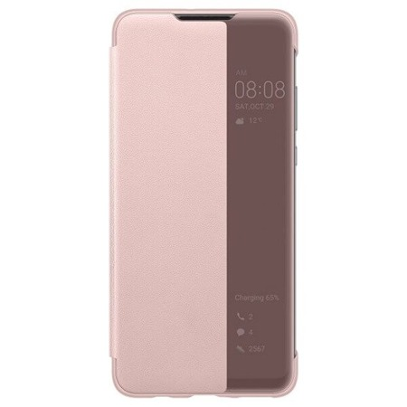 Etui Smart Cover do Huawei P30 Lite różowe