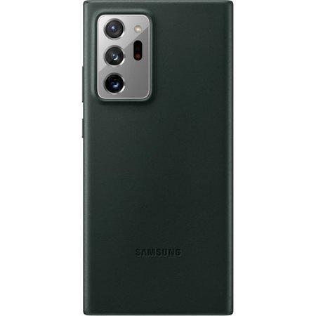 Etui do Samsung Galaxy Note 20 Ultra skórzane zielone