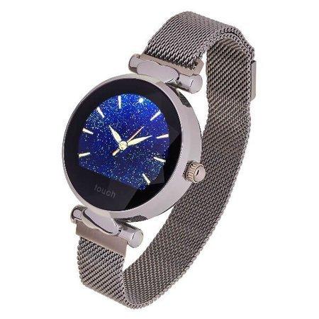 Garett smartwatch Garett Women Lisa srebrny, stalowy