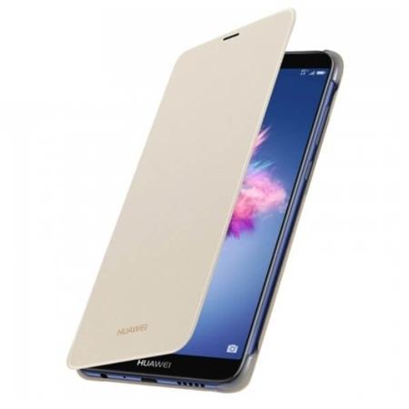 Huawei Etui z Klapką P Smart Złoty
