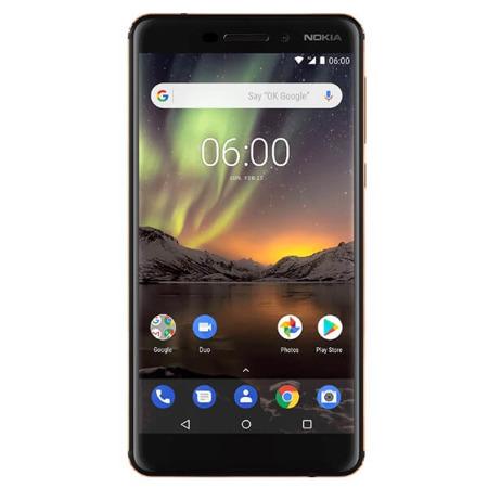 Nokia 6.1 4/64GB Dual SIM granatowo - złoty