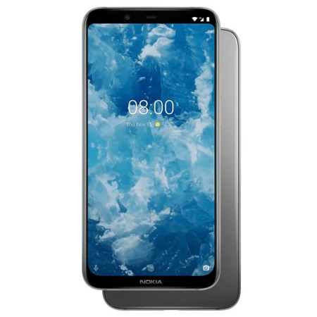 Nokia 8.1 4/64 GB Dual SIM szara