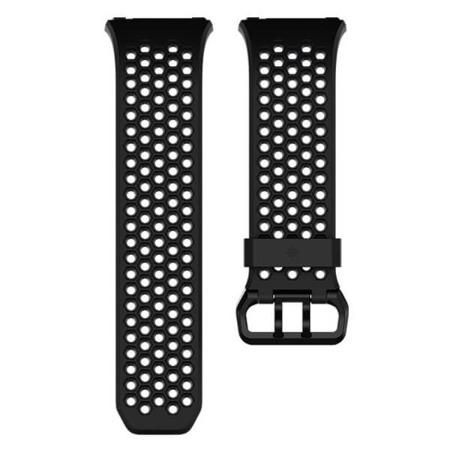 Pasek Sport do Fitbit Ionic czarny mały (S)