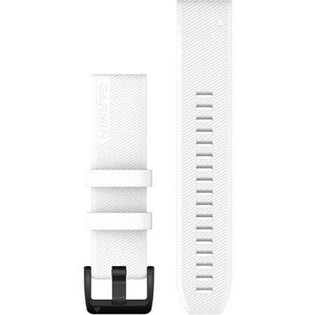 Pasek silikonowy Garmin QuickFit 22 biało-czarny