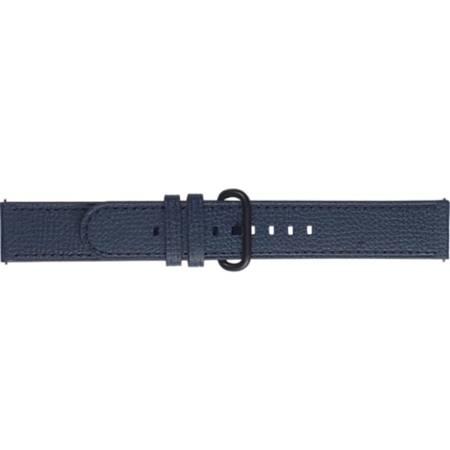 Pasek skórzany Essence do Samsung Galaxy Watch Active/Active2 niebieski