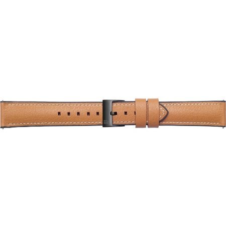 Pasek skórzany Urban Traveler do Samsung Galaxy Watch brązowy
