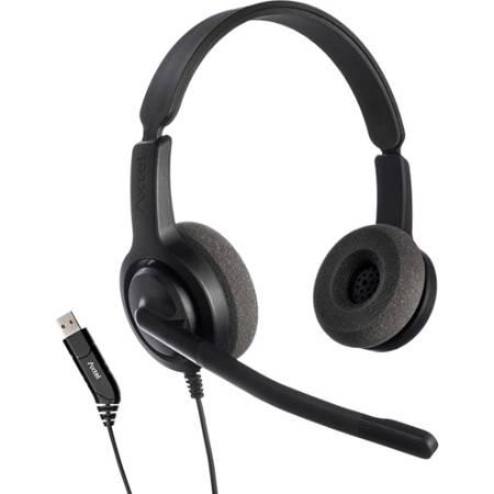 Słuchawki z mikrofonem Axtel Voice USB28 duo NC