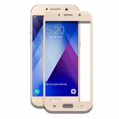 Szkło hartowane Tempered Glass do Samsung Galaxy A5 2017 złote