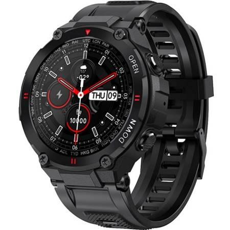 Zegarek - Smartwatch Garett Sport Tactic czarny