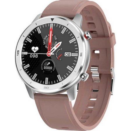 Zegarek - Smartwatch Męski Garett 5S brązowy