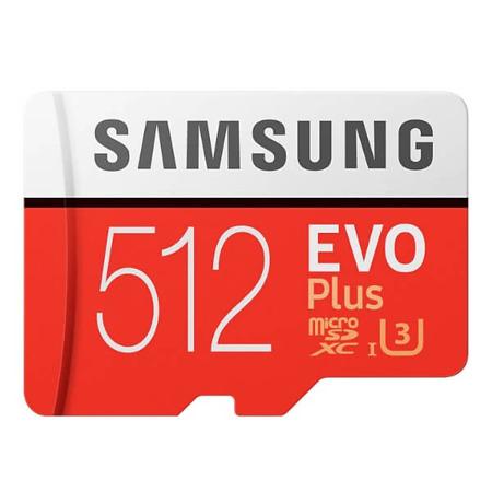 microSD z adapterem EVO Plus 512GB
